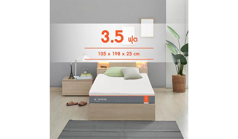 Morning Sleep Series 2 รุ่น Adaptive Coil Pocketed Spring
