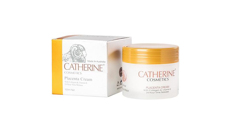 ครีมรกแกะ 3 IN 1 Catherine Cosmetics Placenta Cream