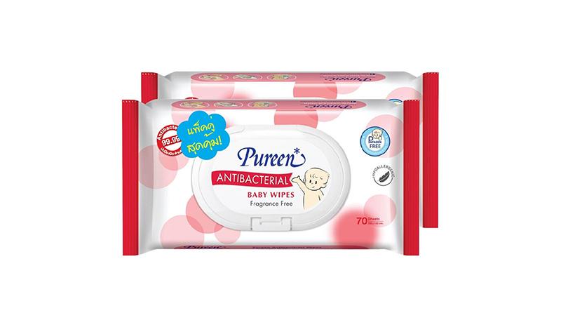 Pureen Antibacterial Baby Wipes