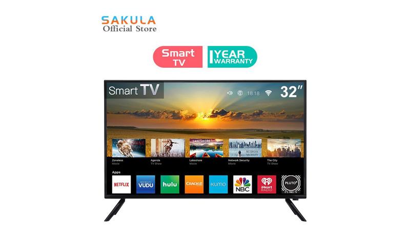 Sakula สมาร์ททีวี 32 นิ้ว LED smart TV HD Ready โทรทัศน์ รุ่น S-32wifi