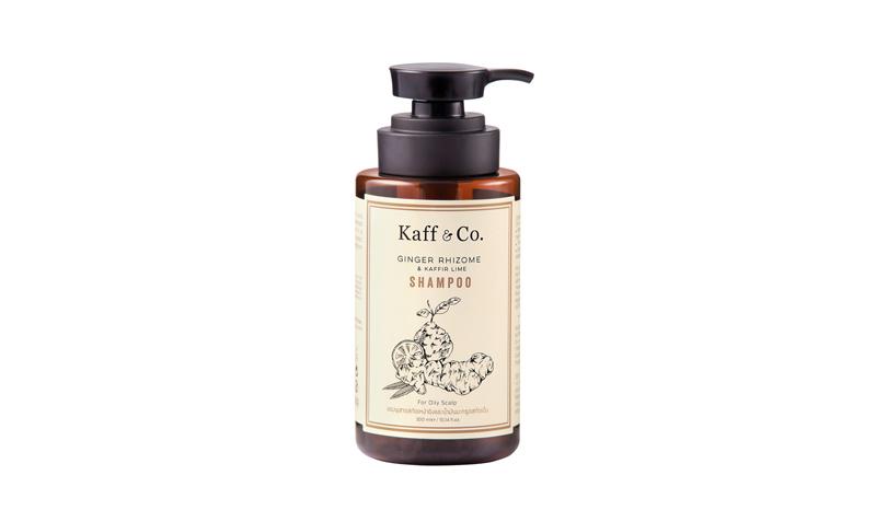 Kaff & Co. - Ginger Rhizome & Kaffir Lime Shampoo