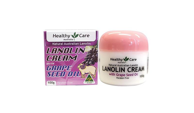 ครีมรกแกะลาโนลีน (Lanolin Cream with Grape Seed oil)