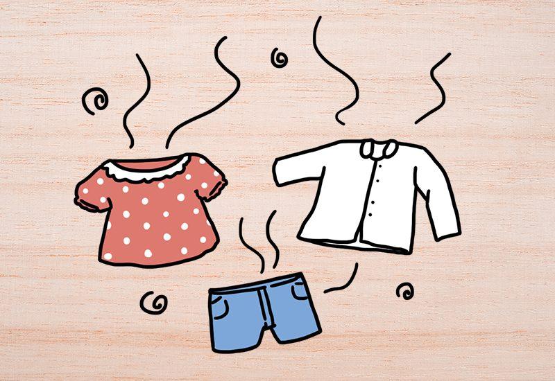 เสื้อผ้าที่เหม็นอับ