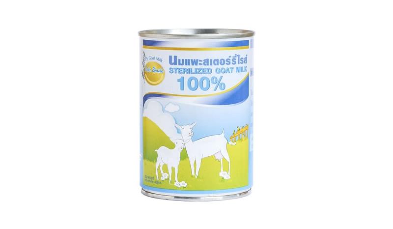 Sirichai ศิริชัย นมแพะ สเตอร์รี่ไรส์ Pet Smile Sterilized Goat Milk 100%