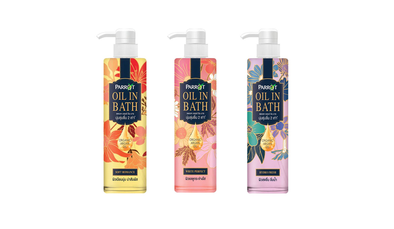 PARROT – OIL IN BATH WHITE PERFECT
