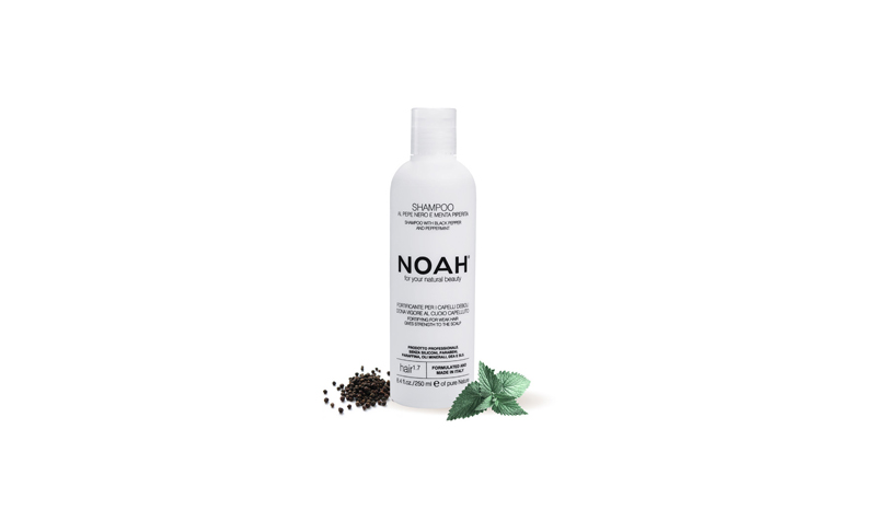 NOAH – Shampoo with Black pepper and peppermint