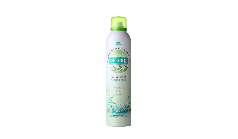 Smooth E Mineral Water Facial Spray Cooling Mist