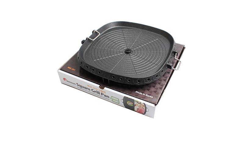 korea barbecue bbq grill pan C0026