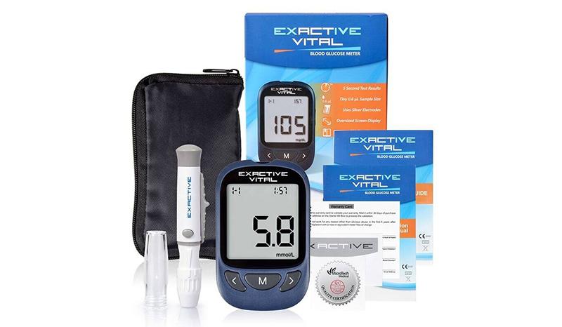 Exactive Vital Blood Glucose Meter