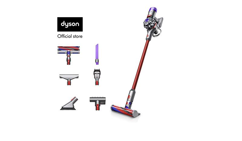 เครื่องดูดฝุ่นแบบด้ามจับ Dyson V8 Slim Fluffy+ Cord- Free Vacuum Cleaner