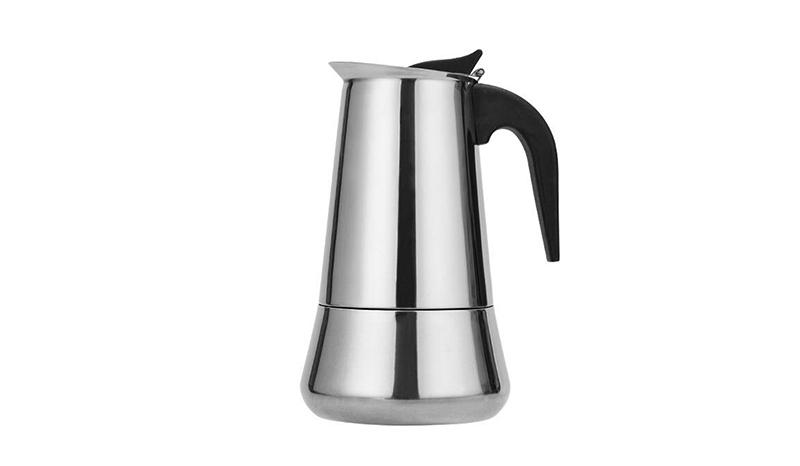 กาต้มกาแฟสดแบบพกพา กาต้มกาแฟสด สแตนเลส MOKA POT