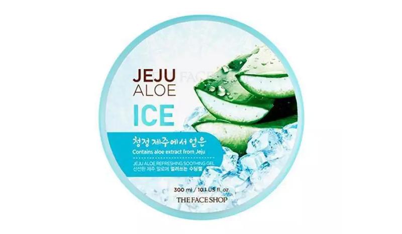 THE FACESHOP jeju aloe Ice