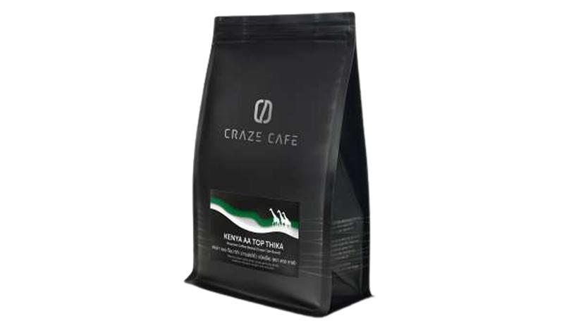 กาแฟ Craze Cafe Single Origin KENYA AA TOP THIKA