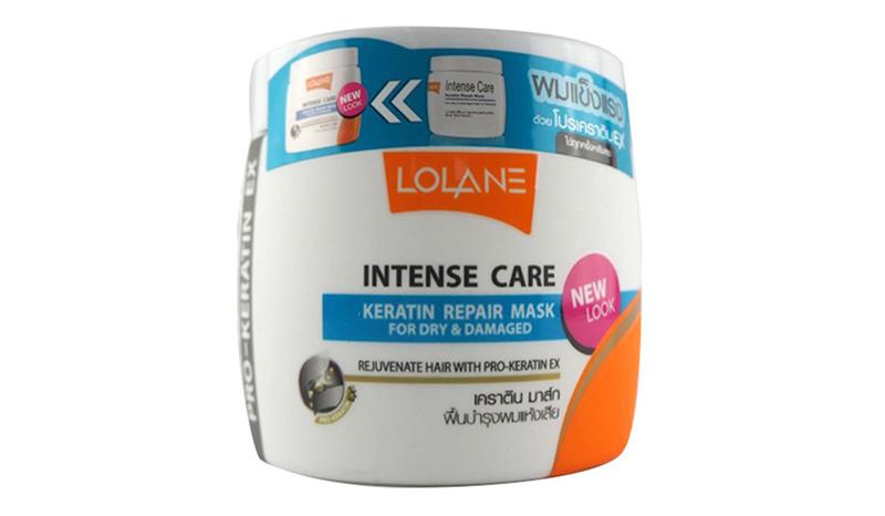 LOLANE – Intense Care Keratin Repair Mask for Dry & Damaged