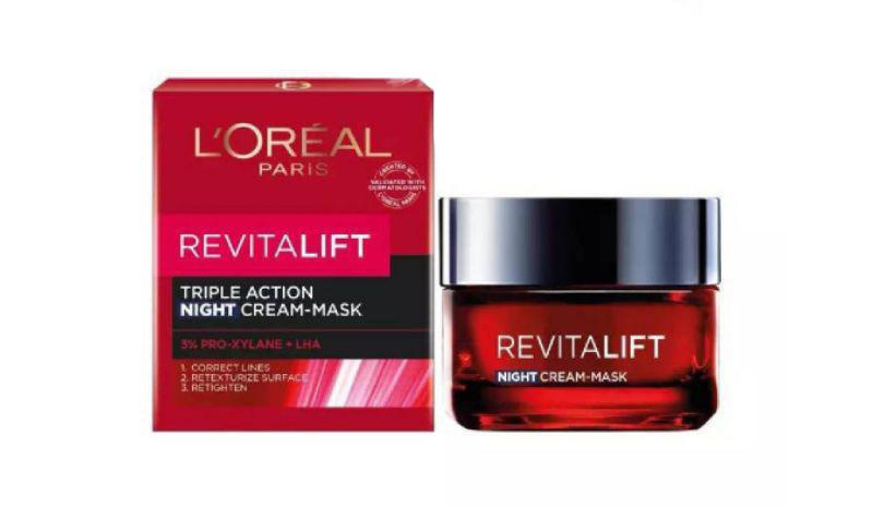 L'Oréal Paris Revitalift Night Cream-Mask