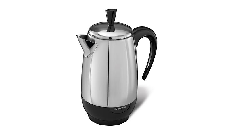 หม้อต้มกาแฟ Aluminium Percolator